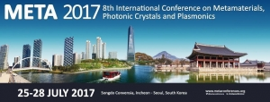 META'17, the 8th International Conference on Metamaterials, Photonic Crystals and Plasmonics