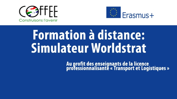 Formation à distance:  Simulateur Worldstrat