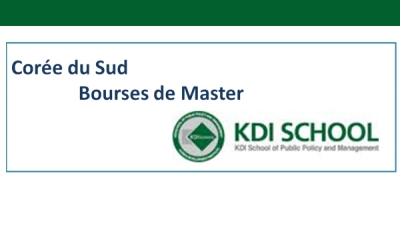 Offre de bourse de Korea Development Institut KDI