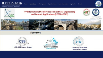 ICEECA'19 - Fourth International Conference on Electrical Engineering  And Control Applications