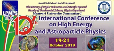 International conference High Energy and astroparticle physics