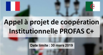 ALGERIAN-FRENCH PROGRAM PROFAS C +